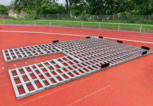 Vennekel® Support Grid for Pole Vault Pits